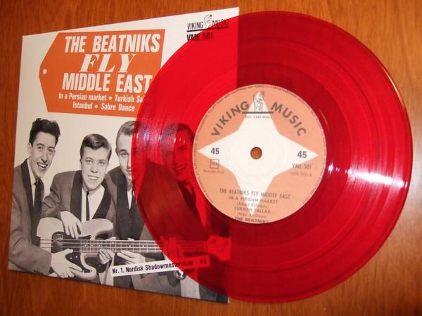 Beatniks: Fly Middle East på rød vinyl