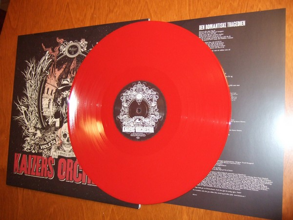 Kaizers Orchestra: Violeta vol. 2 rød vinyl