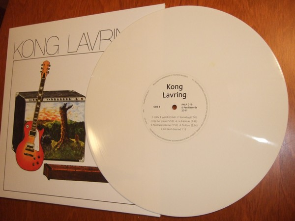 Kong Lavring: Kong Lavring på hvit vinyl