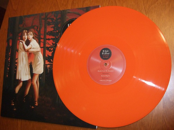 White Willow: Terminal Twilight oransje vinyl