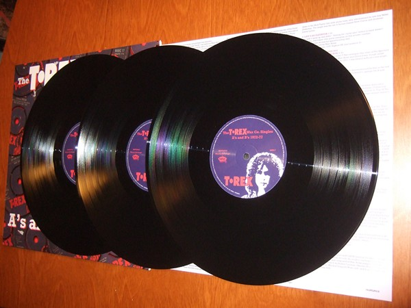 T.Rex: Wax Co. Singles A's and B's 1972-1977 3xLP