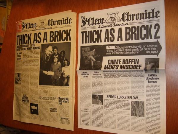 St. Cleve Chronicle fra 1972 og 2012