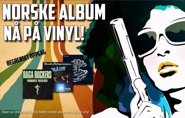 Universal Norge vinylkampanje