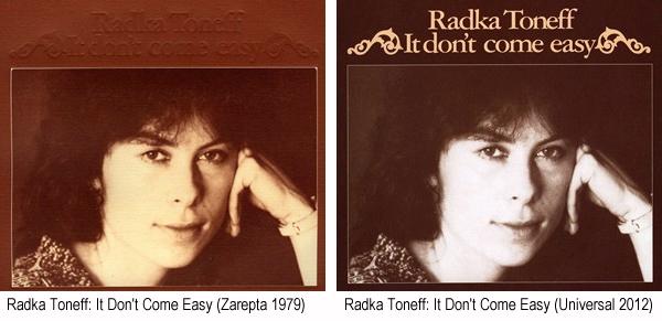 Radka Toneff: It Don't Come Easy
