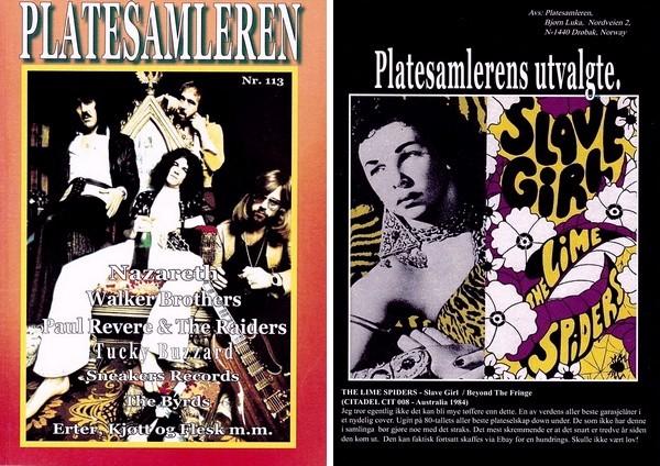 Platesamleren nr. 113 forside og bakside
