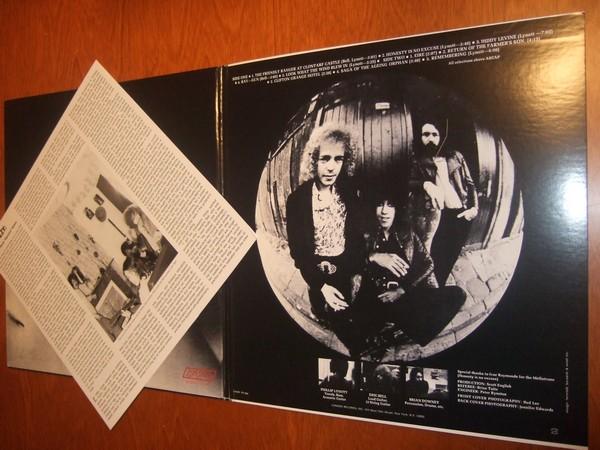 Thin Lizzy: Thin Lizzy LP, innside av gf, med insert