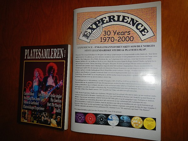 Platesamleren nr. 119 + Experience diskografi