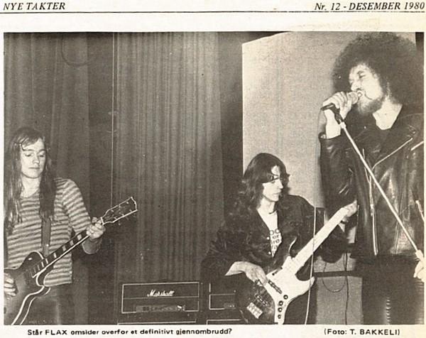 Flax i Nye Takter nr. 12 1980